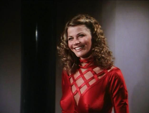 Markie Post is a futuristic Bond Girl.